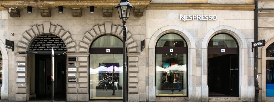 Pasa 13 nespresso for Nespresso firma